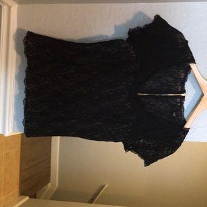 New women's Victoria's Secret lace top Size large